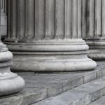 row-of-columns-in-black-white